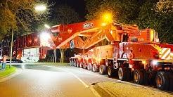 Heavy Transport - 600 Tons get stuck | High Girder Bridge