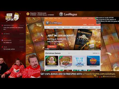 €1000 BET COMING, Earlier €7000 !BONUSHUNT And !Christmas Giveaway up ❤️❤️ (03/12/20)