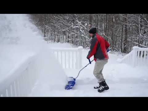 "Snow Joe ION 2-in-1 13"" Cordless & Electric Hybrid Shovel On QVC"