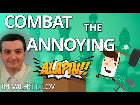 Combat ⚔ the Annoying Alapin - IM Valeri Lilov [Lilov Chess Institute]