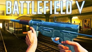 M3 Grease Gun my Favourite SMG Battlefield 5 Medic Class