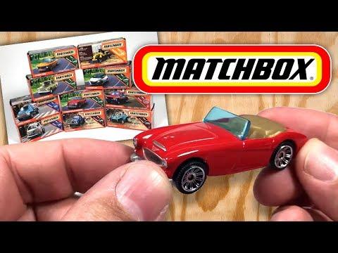 Matchbox Unboxing: BMW 2002, Nissan Junior, Austin Healey, More