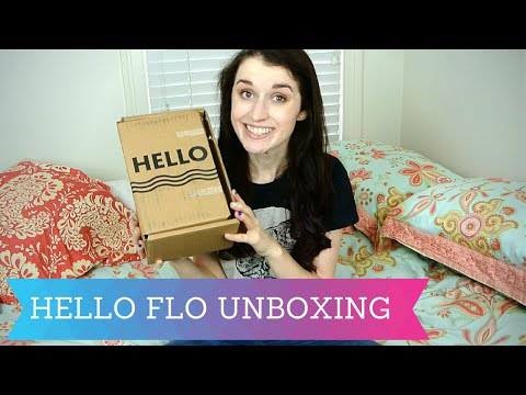 Hello Flo Period Starter Kit Unboxing!
