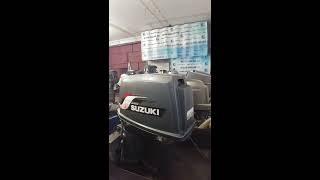 Лодочный мотор Suzuki DT 65 запуск обзор замер компрессии от АквацентрДВ 89240000030, Владивосток