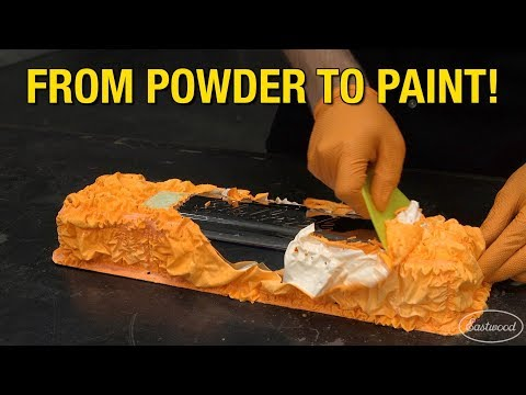 How to Remove Powder Coating & Paint a Valve Cover with Stainless Steel Paint - Eastwood