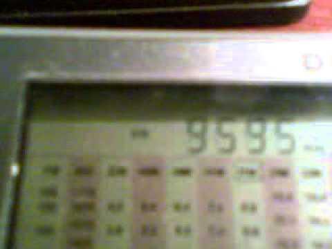 9595 KHz RADIO NIKKEI 1 50 KW from Chiba-Nagara (Japan) 2011.12.20