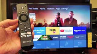 Insignia Smart TV (Fire TV): How to Setup / Connect to the Internet (WiFi or Cable)