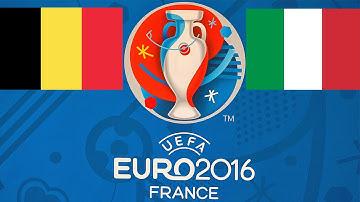 Prognose Italien Belgien