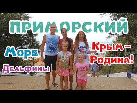 Крым - наша Родина! Феодосия, Приморский. Море. Дельфины. Погода. Август 2019.