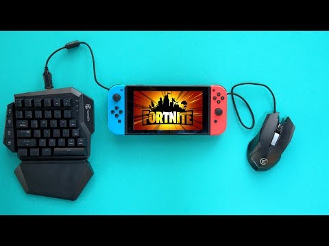 Keyboard and mouse on Nintendo Switch Fortnite