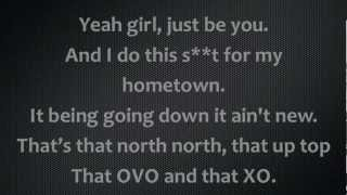 The Weeknd Ft Drake - The Zone Lyrics