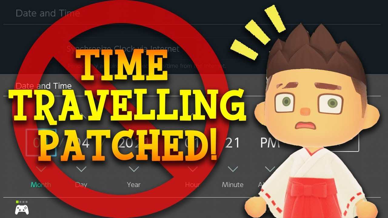 Nintendo Patched Time Travelling in Animal Crossing