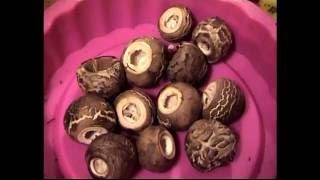 Как приготовить грибы Зонтики на скорую руку. Простой рецепт.
