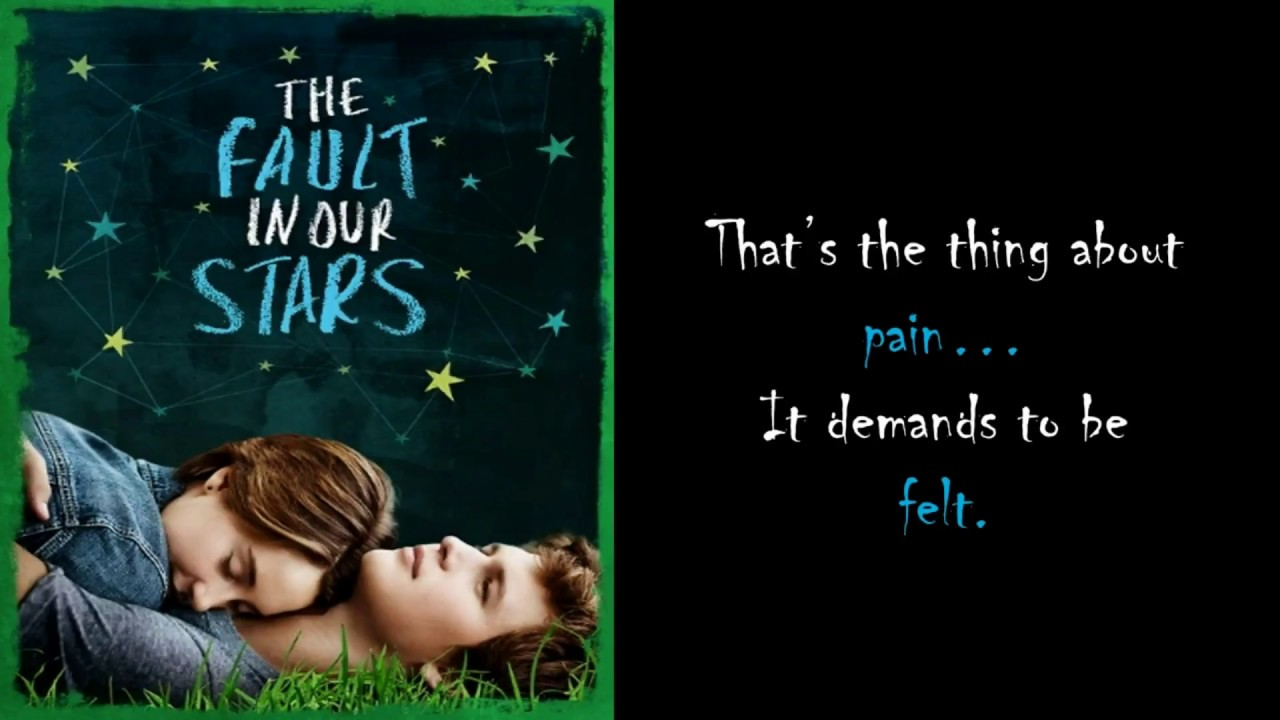 The Fault In Our Stars Quotes Tfios Augustus Waters And Hazel