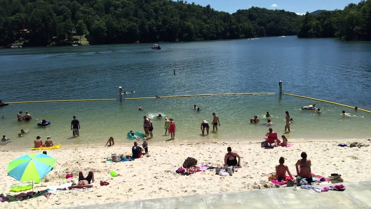 Pines recreation area at lake glenville near cashiers nc for Lake o the pines fishing report