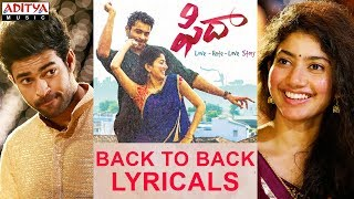 fidaa latest songs