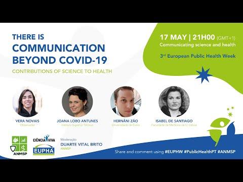 """Não pôde assistir à sessão """"Há comunicação além da COVID-19""""? Veja aqui o resumo"""