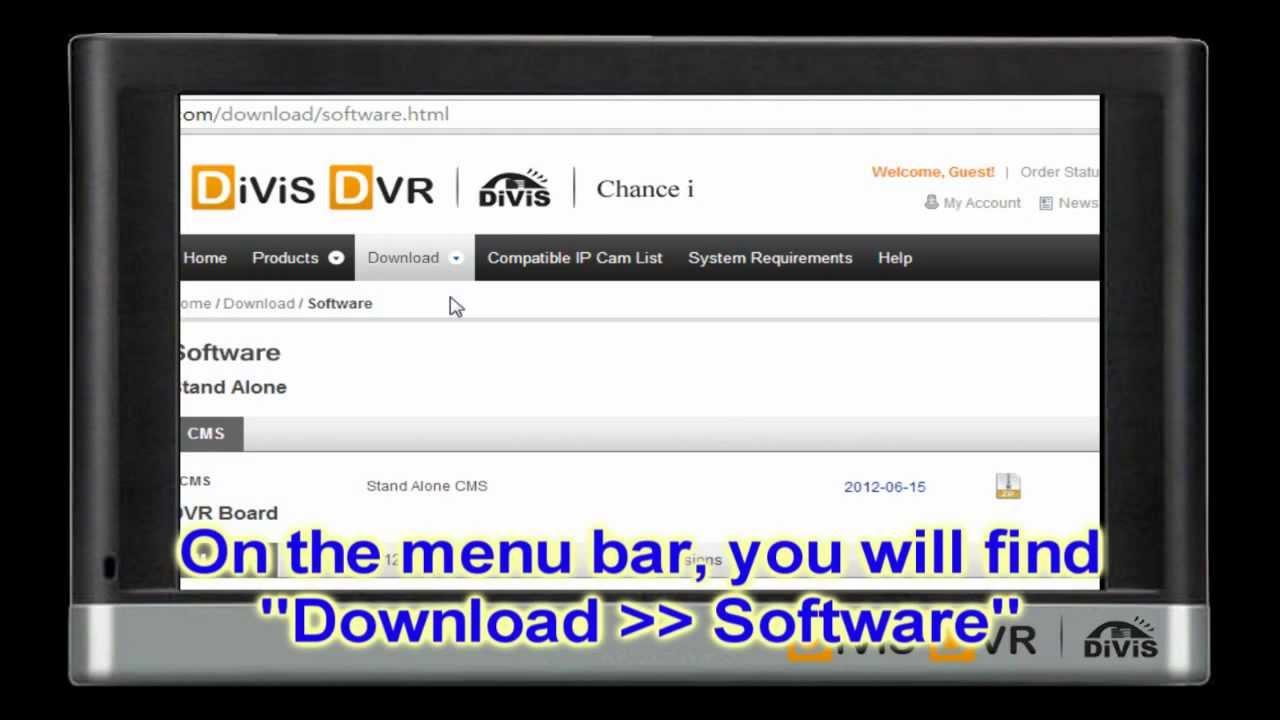 DIVIS DVR WINDOWS 7 64BIT DRIVER