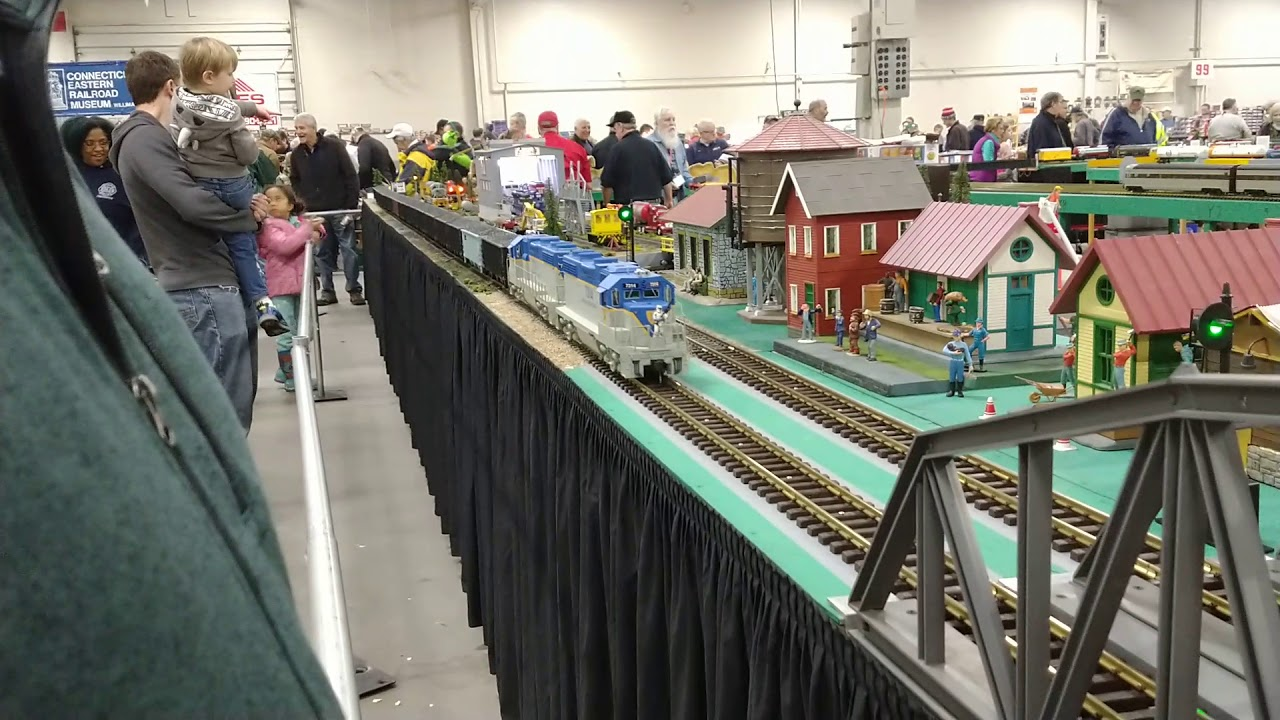 200th upload! The Amherst Train Show at The Big E in West Springfield Massachusetts