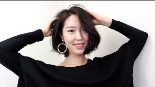 Short Hair Styling Tutorial♥ 단발 머리 스타일링