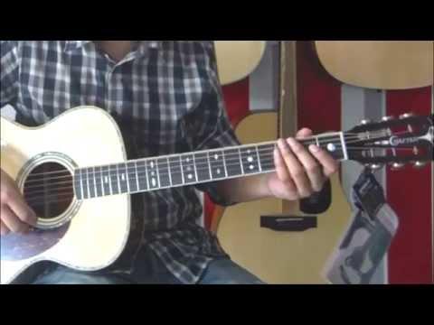 รีวิวกีต้าร์โปร่งไฟฟ้า CRAFTER TM-035/N-EQ (Happyhome Music)
