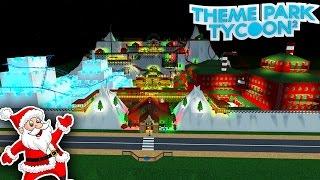 FANTASTIC CHRISTMAS PARK!!! - Le Tycoon de parc à thème (en anglais) Roblox