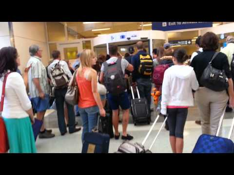 Emergency at Dallas Fort Worth Airport!! August 7th 2013