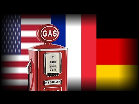 Fuel Prices In The USA And Europe