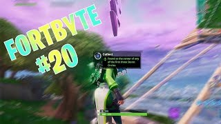 Fortnite FortByte #20 Location *FOUND IN THE CENTER OF THE FIRST THREE STORM CIRCLES*