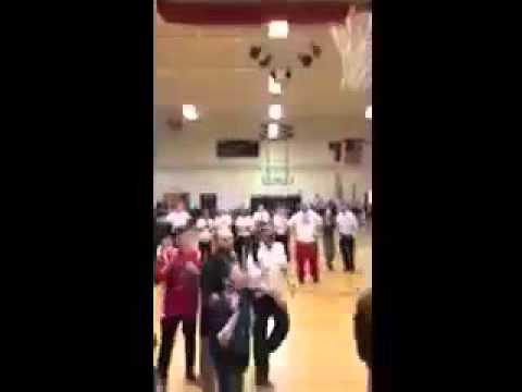 WINNING SHOT! Central Davidson middle school student