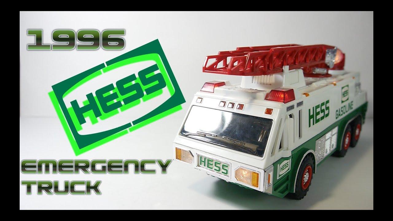 1996 HESS EMERGENCY TRUCK.