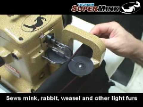 Techsew JJ400400 SuperMink Industrial MinkFur Sewing Machine YouTube Beauteous Fur Sewing Machine Canada