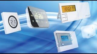 Разновидности комнатных регуляторов температуры Salus(Видео-обзор регуляторов температуры Salus Обзор представил инженер компании