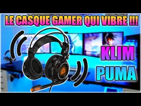 casque gamer puma klim
