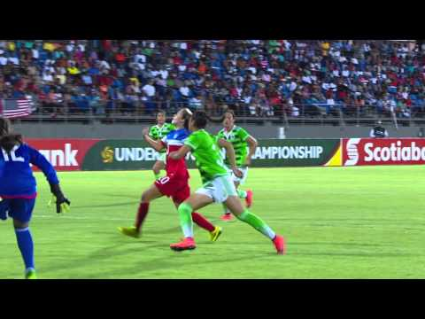 CU17W 2016: Mexico vs United States Highlights