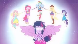 - Equestria Girls vs. Rainbow Rocks vs. Friendship Games Transformaciones Derrotas