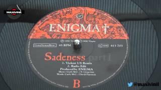 """ENIGMA """"Sadeness"""" (Violent US Remix) en VINILO!  by Maxivinil."""