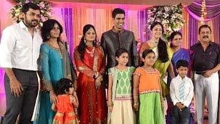 Actors Suriya & Karthi Family wishes S R Prabhu and Deepthi