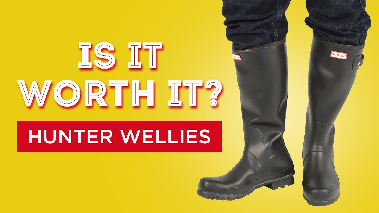 7aa67c8578b Hunter Wellies Rubber Rainboots Review - Is It Worth It  - YouTube
