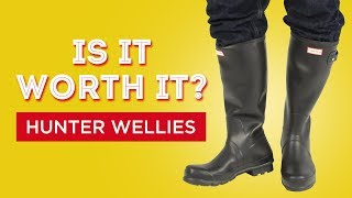 Hunter Wellies Rubber Rainboots Review - Is It Worth It?