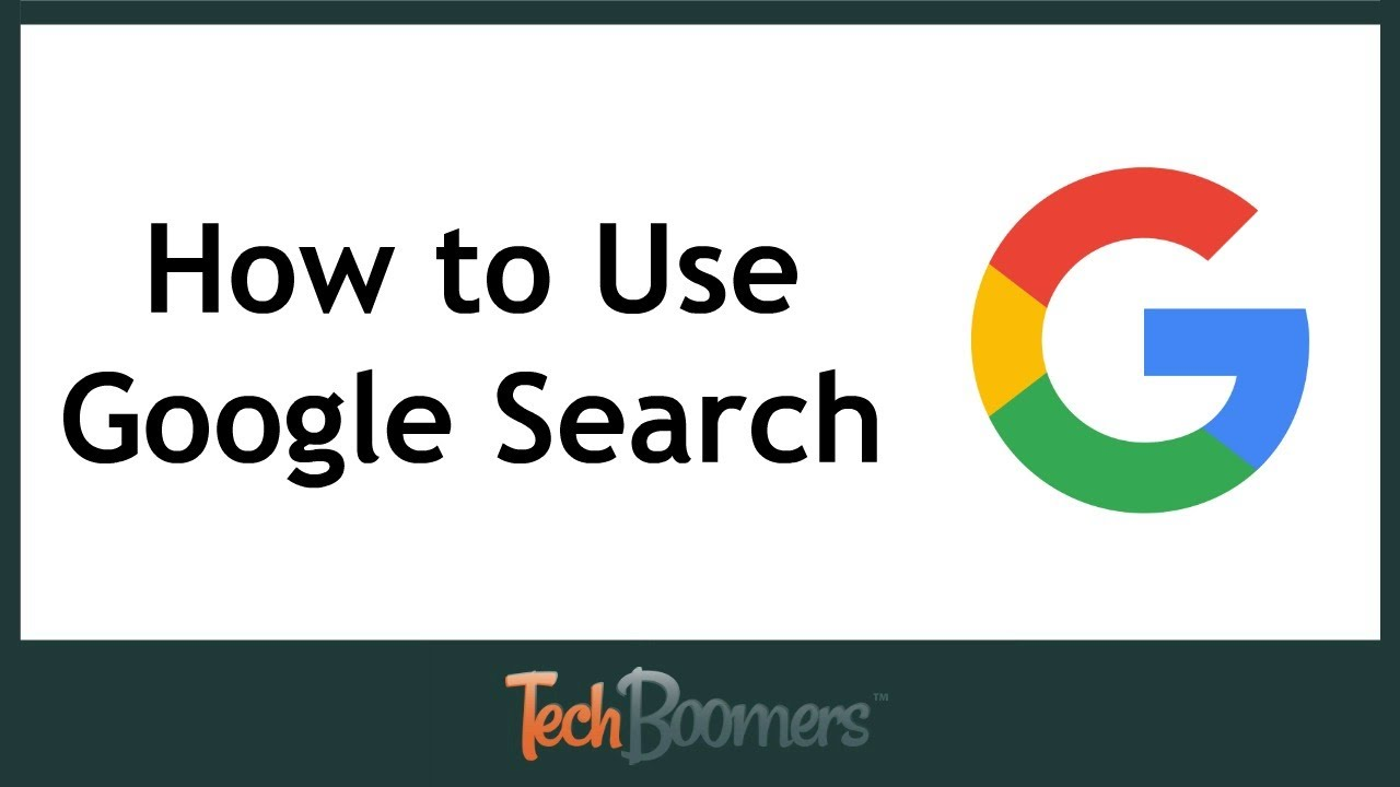 How to Use Google Search (2017) - YouTube