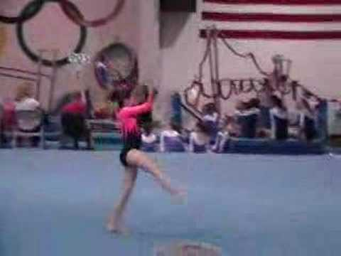Alina Level 4 Floor Routine 11 2007 Youtube