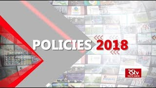 Policies 2018 | RSTV Year-End Special