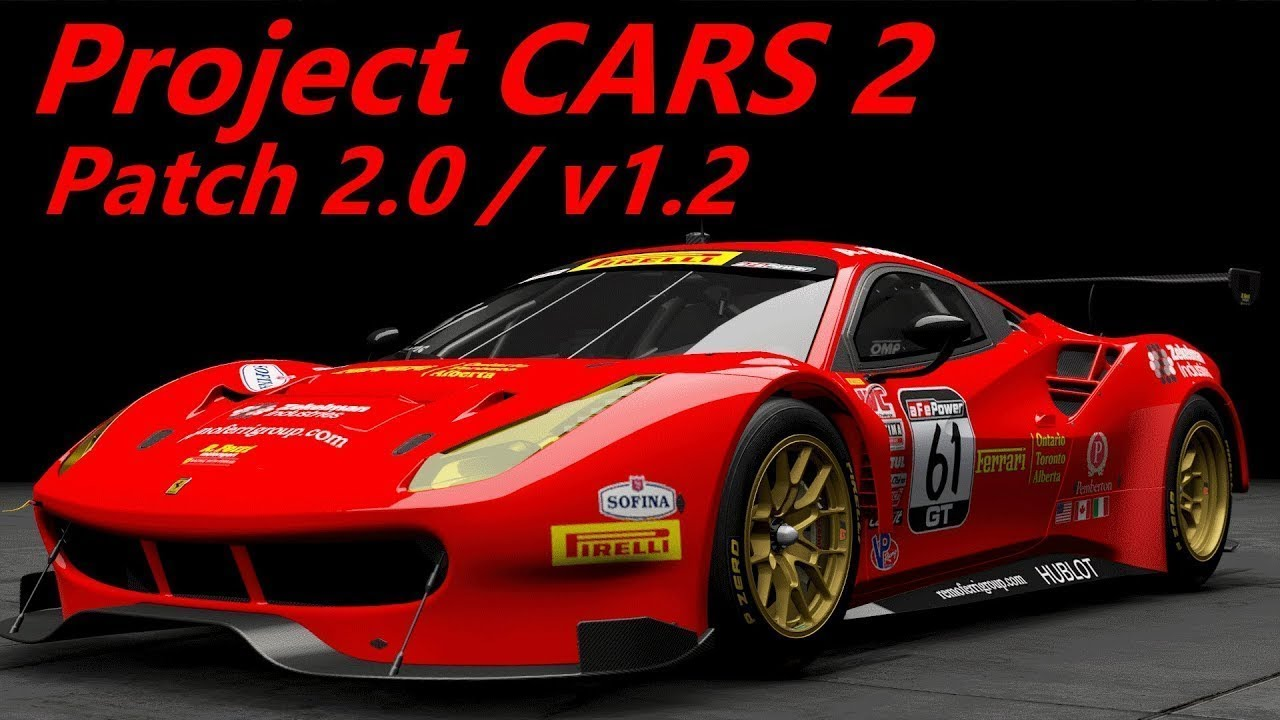 Project CARS 2 PS4 PRO 4k 60fps patch 2.00 car used to be a ...