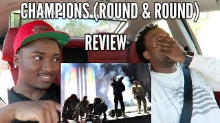KANYE WEST: CHAMPIONS (ROUND & ROUND) MUSIC REVIEW!
