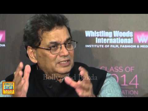 Kamal Hasan,Javed Siddiqui & Subash Ghai At Whistling Woods