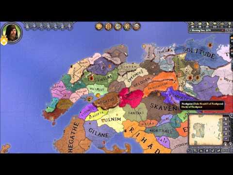 Crusader Kings 2: Elder Kings Mod- Uniting Highrock part 1
