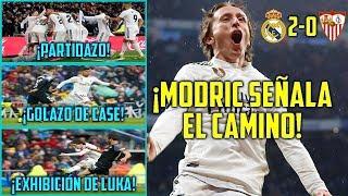 Download Video ¡MODRIC SEÑALA EL CAMINO (2-0)! | PARTIDAZO DEL MADRID VS SEVILLA | GOLAZO DE CASEMIRO | ASÍ SÍ MP3 3GP MP4
