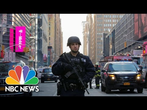 NYC Explosion: Suspected Terrorist Wore Low-Tech Explosive Device | NBC News