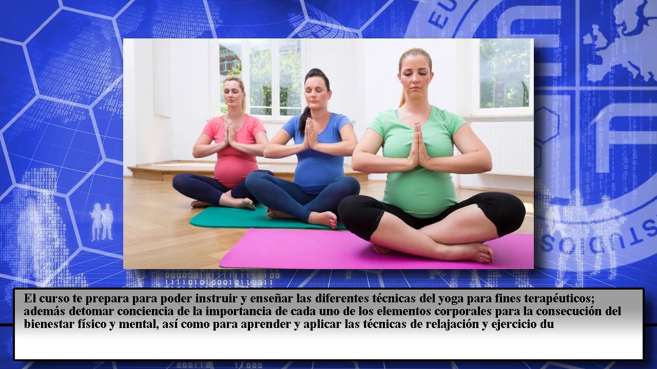Postgrado Monitor Yoga Terapeutico - Cursos Online - YouTube e778921bc0de